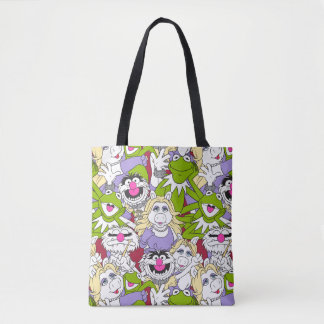 The Muppets | Oversized Pattern Tote Bag