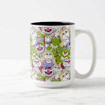 The Muppets | Oversized Pattern Two-Tone Coffee Mug