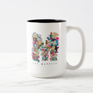 The Muppets | The Muppets Monogram 2 Two-Tone Coffee Mug
