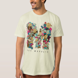The Muppets   The Muppets Monogram 3 T-Shirt