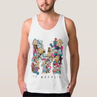 The Muppets   The Muppets Monogram 3 Tank Top
