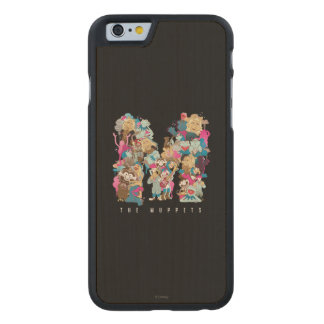 The Muppets | The Muppets Monogram Carved Maple iPhone 6 Case