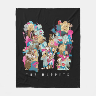 The Muppets | The Muppets Monogram Fleece Blanket