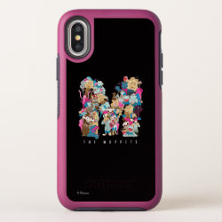 OtterBox Apple iPhone X Symmetry Case with Anna & Elsa Sisters Line Drawing design