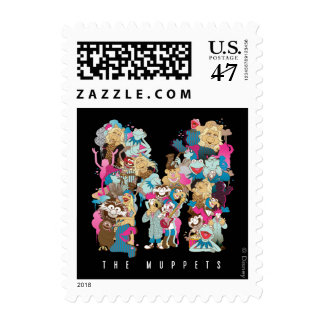 The Muppets | The Muppets Monogram Postage Stamp