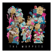 The Muppets | The Muppets Monogram Poster