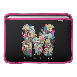 The Muppets   The Muppets Monogram Sleeve For MacBook Air