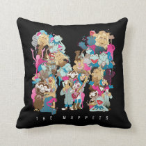The Muppets   The Muppets Monogram Throw Pillow