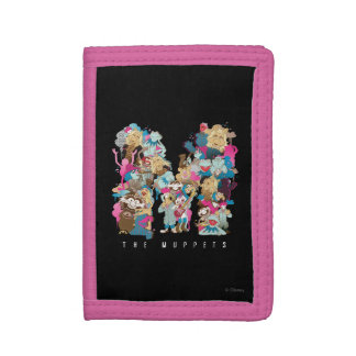 The Muppets | The Muppets Monogram Trifold Wallets