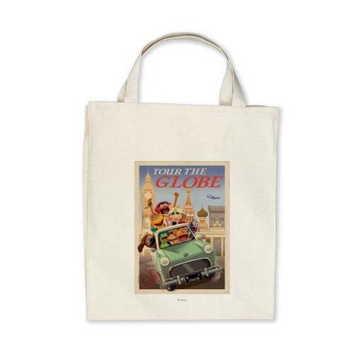 The Muppets Tour the Globe Tote Bags