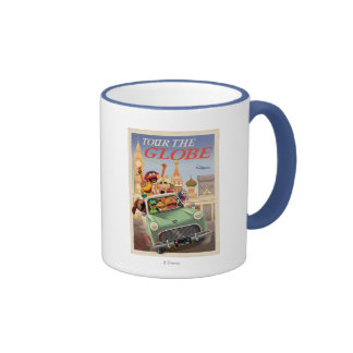 The Muppets Tour the Globe Coffee Mugs
