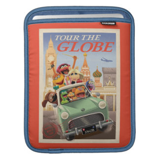 The Muppets Tour the Globe Sleeve For iPads