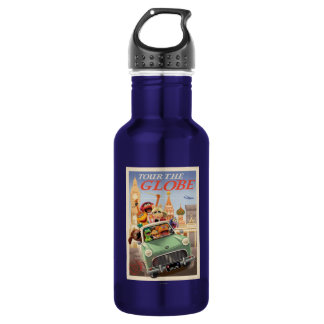 The Muppets Tour the Globe Water Bottle