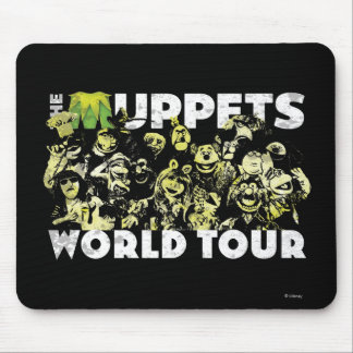 The Muppets World Tour Mouse Pad