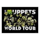 The Muppets World Tour Poster