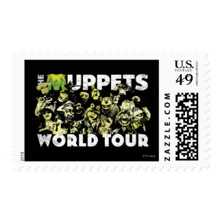 The Muppets World Tour Stamp