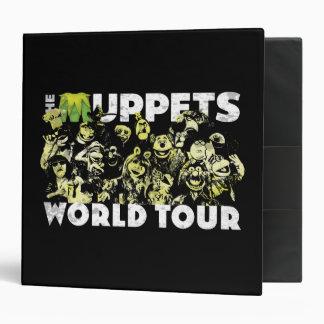 The Muppets World Tour Vinyl Binders
