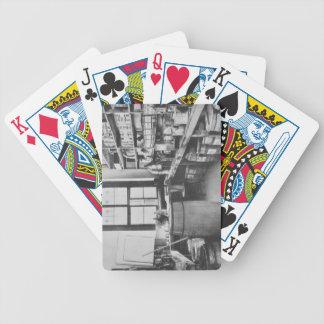 The Mural Studio Storeroom from the Workshops of Poker Deck