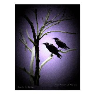 The Murder, At Midnight Postcard