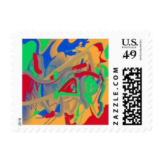 The Murky Swamp of Earth Postage