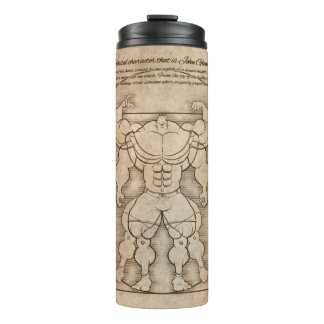 The MUSCLEHEDZ MAN Thermal Tumbler