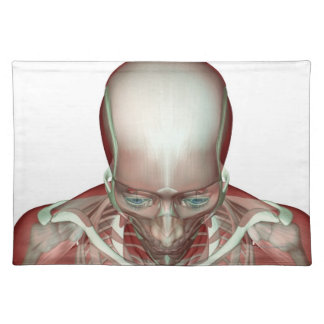 The Musculoskeletan of the Head and Neck 2 Cloth Placemat