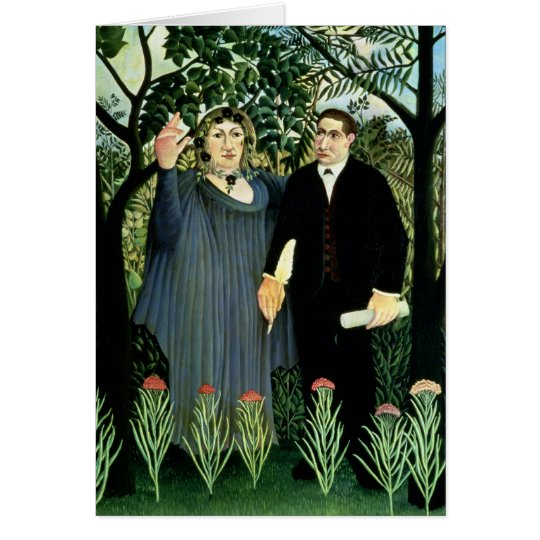 The Muse Inspiring the Poet, 1908-09 Card