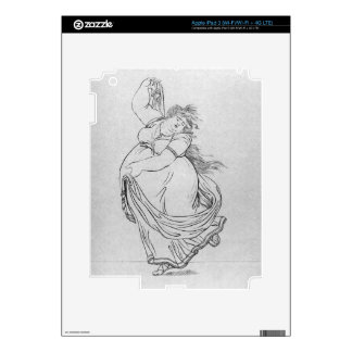 The Muse of Dance, Plate VI from a new edition con iPad 3 Skin