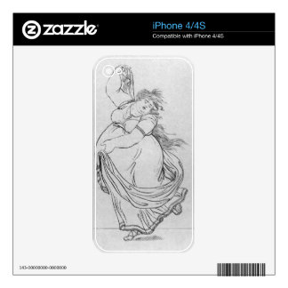The Muse of Dance, Plate VI from a new edition con Skins For The iPhone 4S