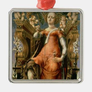 The Muse Thalia Metal Ornament