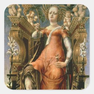 The Muse Thalia Square Sticker