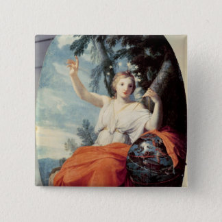 The Muse Urania, 1646-47 Button