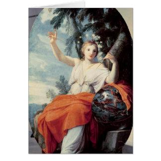 The Muse Urania, 1646-47 Card