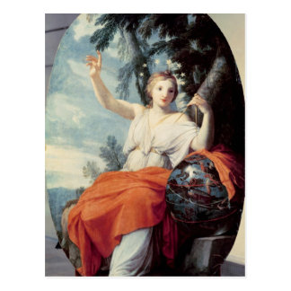 The Muse Urania, 1646-47 Postcard
