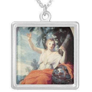 The Muse Urania, 1646-47 Square Pendant Necklace