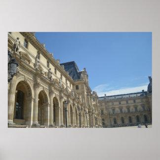 The Musée du Louvre Poster