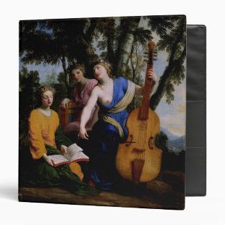 The Muses Melpomene, Erato and Polymnia, 1652-55 Binders