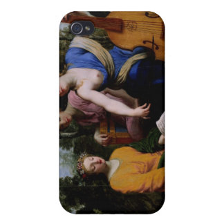The Muses Melpomene, Erato and Polymnia, 1652-55 iPhone 4 Cover