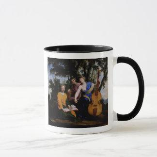 The Muses Melpomene, Erato and Polymnia, 1652-55 Mug