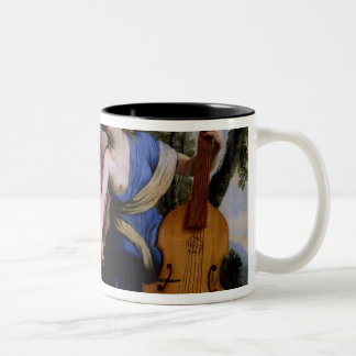 The Muses Melpomene, Erato and Polymnia, 1652-55 Two-Tone Coffee Mug