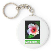 The MUSEUM Artist Series by jGibney  Hibiscus Go G keychains