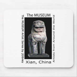 The MUSEUM Artist Series by jGibney  Stone Lion Mouse Pad