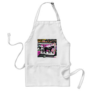 The MUSEUM Artist Series by jGibney  Together2 Adult Apron