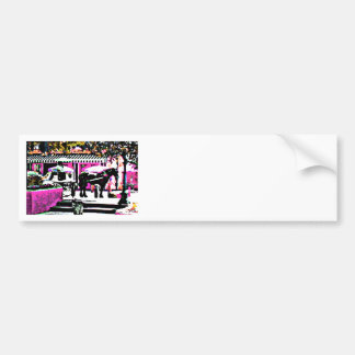 The MUSEUM Artist Series by jGibney  Together2 Car Bumper Sticker