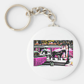 The MUSEUM Artist Series by jGibney  Together2 Keychains