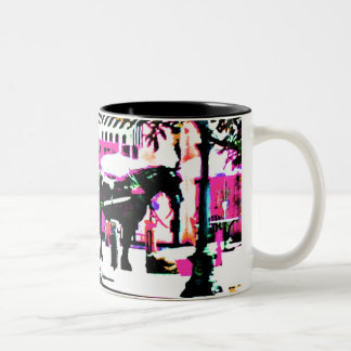 The MUSEUM Artist Series by jGibney  Together2 Two-Tone Coffee Mug