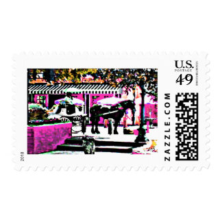 The MUSEUM Artist Series by jGibney  Together2 Postage Stamp