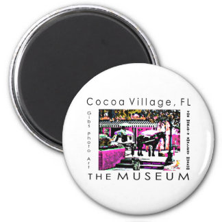 The MUSEUM Artist Series by jGibney  Together Refrigerator Magnets