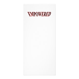 The MUSEUM Artist Series gibsphotoart Empowered r Customized Rack Card
