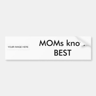 The MUSEUM Artist Series gibsphotoart MOMs know Be Bumper Sticker